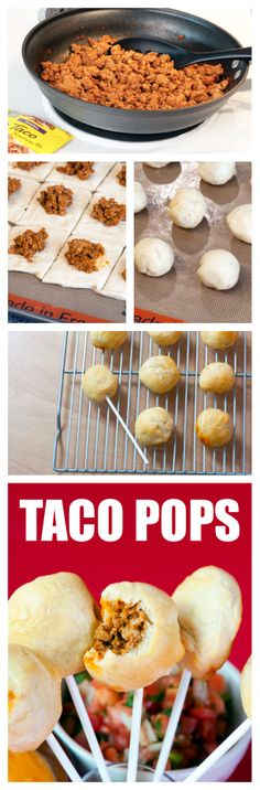 Taco Pops, though I probably wouldn't bother with the stick. But Taco balls sounds...well..