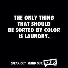 #antiracism #fckh8 #stopracism