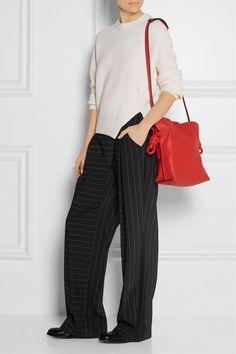 7baad2d5b968 Loewe - Flamenco Knot small leather shoulder bag