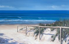 Galleries : Seascapes - Leisa O'Brien Artist