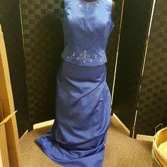 Mother of bride dress Blue Dresses Wedding