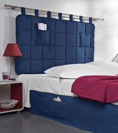 Cabezal cama acolchado con trabillas Hogar 30 Venca