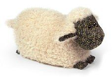 Dora Designs - Lois the Lamb - The Traditional Range - Doorstop by Dora Designs Sheep And Lamb, Fabric Animals, Farm Yard, Door Stop, Rug Hooking, Cushions, Tapestry, Traditional, Crafts