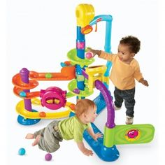 Fisher-Price Cruise & Groove Ballapalooza (Age: 6 months - 3 years) Encourages your baby to crawl, sit, stand and develop gross motor skills...