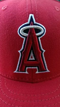 23e57ba06b2 Authentic 59FIFTY offical on Field Cap Angels Baseball