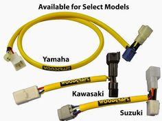 Key Switch Elimination Harnesses for Motorcycle Road Racing - Now available for the Yamaha FZ07