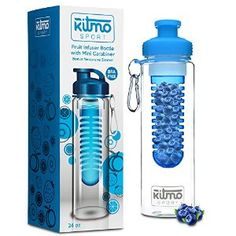 Give the gift of health with this fruit infuser water bottle by Kitmo Sport.