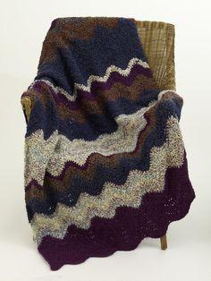 Crochet Ripple Afghan Pattern (Crochet)