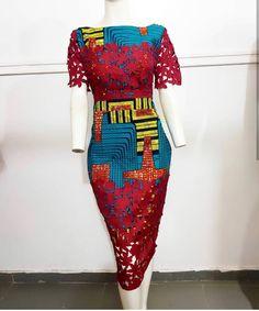 Latest Ankara Dress Styles - Loud In Naija Trendy Ankara Styles, Ankara Dress Styles, Lace Dress Styles, African Fashion Ankara, Latest African Fashion Dresses, African Print Fashion, Modern African Fashion, Dress Fashion, Fashion Fashion