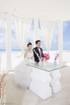 Wedding photo_Le Blanc_Wedding/ウエディングフォト_ルブラン_ウエディング_AkiDemi Photography www.akidemi.com