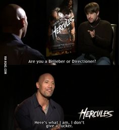 The Rock is my f**king hero now.
