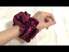 Scrunchies, Hair Bows, Band, Sewing, Youtube, Ribbon Hair Ties, Sash, Dressmaking, Couture