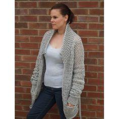 Baggy Cardi - free #crochet pattern