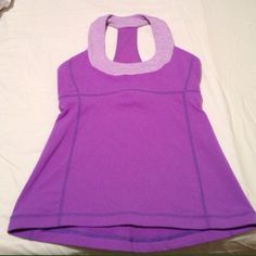 Lululemon top Halter top, gorgeous violet color lululemon athletica Tops
