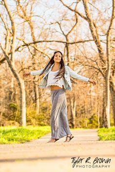 Daniela Castro - Heritage High School - Class of 2014 - #seniorportraits - Senior Pics - Senior Portraits - Girls - Senior Picture Pose Ideas for Girls - McKinney – Green Grass - Sunshine - Winter Session - Tyler R. Brown Photography