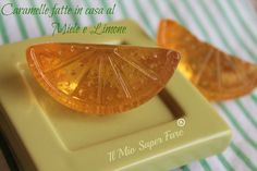 Caramelle fatte in casa miele e limone