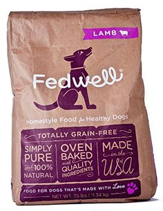 Fedwell Oven Baked Lamb Kibble, 25 lb Bag -- You can get additional details at the image link.
