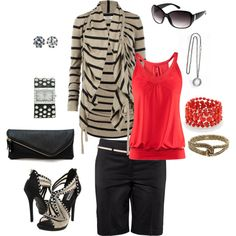 just a splash of color, created by jenm03 on Polyvore