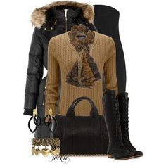 This outfit can be accessorized with our New Tippy Taupe Pressed Eye Shadow and Black Magic Mascara. www.honeybeegardens.com
