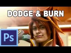 Dodge and burn: Iluminar al pintar luces y sombras - Tutorial Photoshop en Español (HD) - YouTube