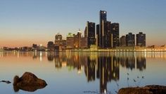 Never mind the bankruptcy, especially beautiful image of Detroit on the river.  On Day 2 of Detroit's historic bankruptcy trial, the city's lawyer said the Chapter 9 restructuring would prove that Gov. Rick Snyder was correct to authorize the largest municipal bankruptcy in U.S. history. Getty Images