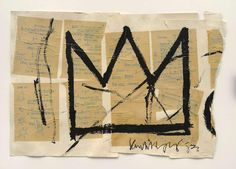 The notebooks of Jean-Michel Basquiat are unveiled at the Brooklyn Museum via WallpaperMag