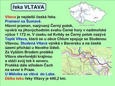 ŘEKY ČESKÉ REPUBLIKY :: Béčko-Tc Teaching Geography, Czech Republic, Kids Learning, Grammar, Kindergarten, Homeschool, Classroom, Science, Education