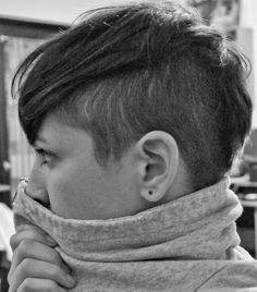 I really want to do this... Undercut side view disconnected