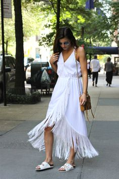 @tobebright movin' and shakin' in some fringe. || Get moving in the Nasty Gal Movers & Shakers Fringe Dress: http://www.nastygal.com/fringe/nasty-gal-movers-and-shakers-fringe-dress--white?utm_source=pinterest&utm_medium=smm&utm_term=nastygals_do_it_better&utm_campaign=ngdib