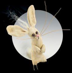 FREE Product Projects - Christi Friesen's Neighborhood #polymer  #christifriesen #diycrafts #projects #freeProjects #tuts #polymerclay #rabbit #bunny #fiber