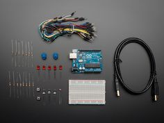 Integrated Circuits Electronic Components & Supplies Enthusiastic 1 Sets Handy Portable Resistor Kit For Arduino Starter Kit Uno R3 Led Potentiometer Tact Switch Pin Header Fashionable Patterns