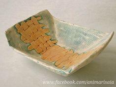"Vassoio - Ceramic lab. RSA ""La Risaia"" - nursing home - www.facebook.com/animarisaia #rsa #casa di riposo"