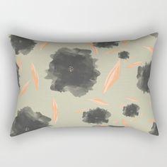Imaginary Flowers I Rectangular Pillow