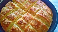 Discover recipes, home ideas, style inspiration and other ideas to try. Sweets Recipes, Gourmet Recipes, Bread Recipes, Cake Recipes, Cooking Recipes, Pogaca Recipe, Burek Recipe, Cheese Pockets Recipe, Torte Recepti
