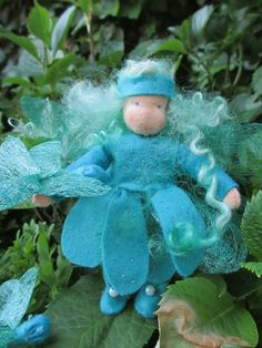 Just finished this dragonfly fairy (Atelier Anke)