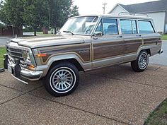 Displaying 1 - 15 of 40 total results for classic Jeep Grand Wagoneer Vehicles for Sale. Jeep Cherokee Sport, Jeep Grand Cherokee, Vintage Jeep, Vintage Trucks, Jeep Cars, Jeep 4x4, Woody Wagon, Old Jeep, Jeep Wagoneer