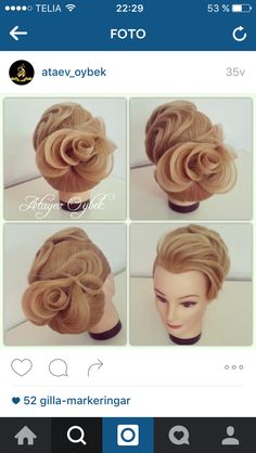 Hairstyle rose