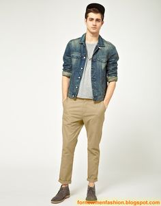 For New Men Fashion: College Life Fashion For Boys