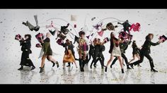 House of Fraser Christmas Advert 2016 -  The tendency for the past few years has been for an ensemble dance piece with the Christmas part represented in the set pieces