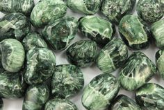 Seraphinite Helps us to work holistically on our illnesses, not just healing the physical body but also strengthening our astral and energetic bodies, dissolving blockages that prevent us from being fully healthy and drawing out emotional problems and old traumas that may be causing us distress. It also is believed to cause old patterns of disease or imbalance to far away, which creates a space for new patterns of well-being to form.