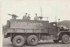 "Tag info:"".... 88th trans co. Gun Trucks 1969 Army Vietnam 88th trans co Radcliff (AnKhe)..."" Note the Minigun mounted on the rear.....probably from a downed gunship (Radcliff was the home of the 1st Cav back then). These were used primarily as convoy escorts running back and forth to An Khe through the Mang Yang Pass on QL19 (Ambush Alley - bad place to run through).  Via ~ The NAM (Bob B.)"