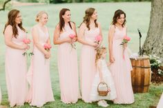 Long and pink brides