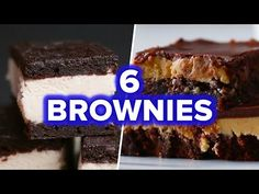 6 Ways To Make Better Boxed Brownies Brownie Mix Recipes, Cake Mix Recipes, Brownie Bar, Real Food Recipes, Dessert Recipes, Boxed Brownies, Food Cakes, Hot Fudge, Creative Food