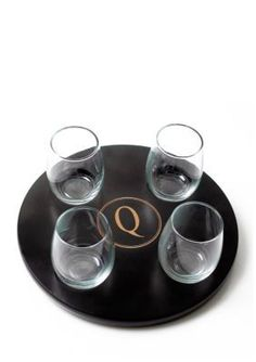 Cathys Concepts  PERSONALIZED WINE FLIGHT SAMPLER-Q-DS