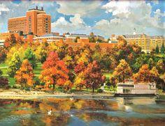 Painting of the University of Minnesota Campus... Beautiful!