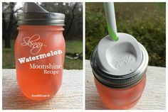 Skinny Watermelon Moonshine Recipe