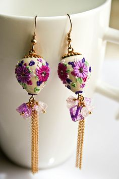 sweet japanese candy earrings by Chili Crab
