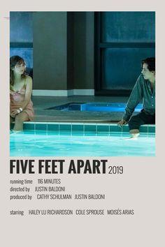 FIVE FEET APART - Polaroid poster
