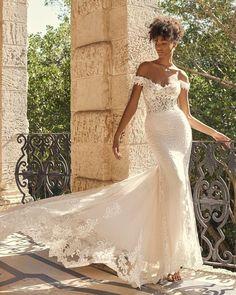 Unique & Hot: 27 Sexy Wedding Dresses Ideas ❤ sexy wedding dresses ideas fit and flare off the shoulder lace maggie #weddingforward #wedding #bride #weddingoutfit #bridaloutfit #weddinggown