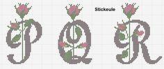 Stickeules Freebies: Alfabete